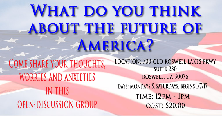 America's Future - Discussion Group