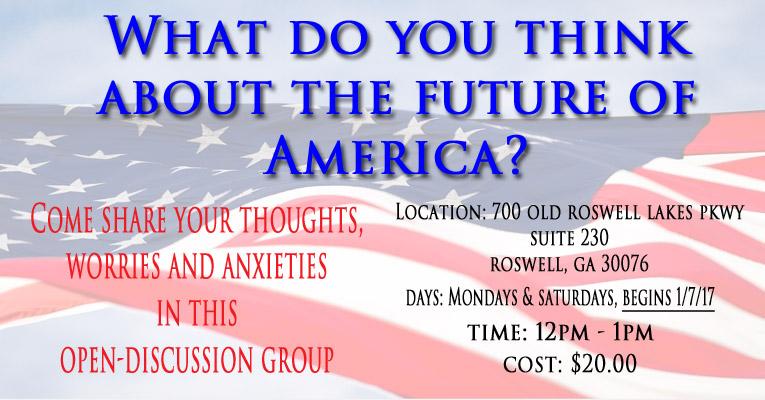 America's Future - Discussion Group